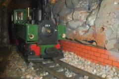 Tren en el museo del Labradorcico.